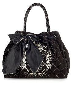 juicy couture quilted velour bag