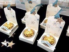 Video Anleitung zur Ferrero Rocher Verpackung / Tutorial for Ferrero Rocher Goodie   Seid kreativ mit Tanja   Bloglovin'