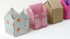 Origami Crown Box Tutorial - Tall Version #origami #crown #box #diy #crafts