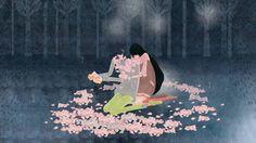 Cherry Blossom Elephant in forest (2012 cj animation festival ver.) on Vimeo  Healing Animation😌