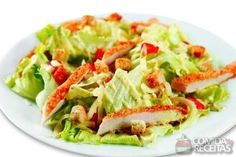 Receita de Caesar salad - Comida e Receitas