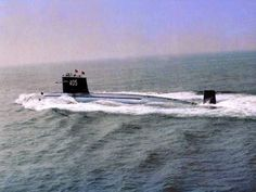 Chinese Peoples' Liberation Army Navy (PLAN) Type 091 Han class nuclear powered submarine.