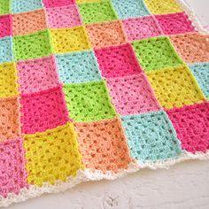 Pretty granny blanket.