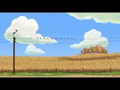 Court-métrage Disney•Pixar - Drôles d'oiseaux sur une ligne à haute tension - YouTube