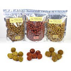 3x500g Bags RBA Roasted Nut, Spicy Krill & Toffee Banana Shelf Life Boilies #RBAfishingbait #bait #carp #boilies