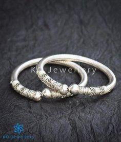The Mohin Flexible Silver Bracelet    #bangle #puresilver #silver #wedding #bridal #indian #ethnic #KOJewellery #bling #festive