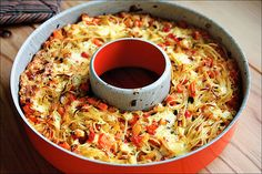 This baked spaghetti pie recipe is about to become your new go-to for busy weeknight dinners.