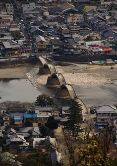 Kintaikyo Bridge, Yamaguchi, Japan   Kintai bridge Iwakuni,  Yamaguchi Prefecture, Japan via flickr
