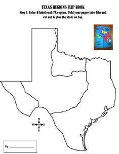 texas regions coloring pages - photo#8