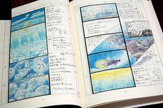 """Storyboards of Miyazaki's """"Ponyo"""" = Amazing!"""