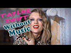 Taylor Swift - Blank Space (Without Music Shreds) - YouTube