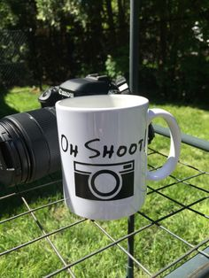 A personal favorite from my Etsy shop https://www.etsy.com/listing/601966384/oh-shoot-12oz-ceramic-mug