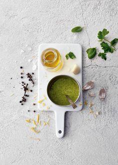 Rajamäen Sitruuna-pestomarinadi sopii erityisen hyvin kasvisten marinointiin.