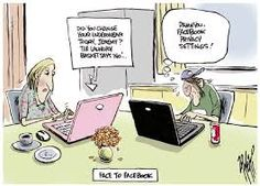30 Funny Social Media Cartoons You Must See Funny Cartoon Images, Cartoon Pics, Funny Cartoons, Funny Pictures, Facebook Quotes, Facebook Humor, Funny Texts, Funny Jokes, Social Media Etiquette