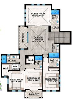 floor plan for the house used in the movie somethings got to give ...