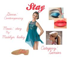 """""""Stay"""" by peacemya ❤ liked on Polyvore featuring Bloch and Christian Dior Haute Couture"""