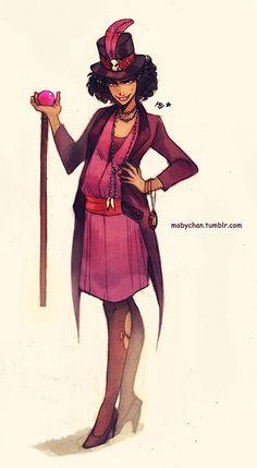 mabychan: Disney villains genderbend first part! Shan-yu, Hades, Maleficent, Dr. Facilier, Captain Hook, Jafar