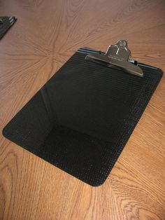Carbon fiber clipboard. Must have.