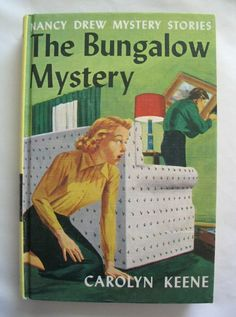 Nancy Drew  The Bungalow Mystery by Carolyn by TheVintageRead, $5.25