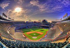 Ballpark in Arlington Texas Rangers