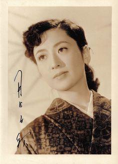 Tsukioka Chiaki (月丘千秋) 1925-, Japanese Actress