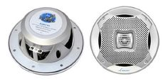 Pyle Lanzar AQ6CXS 400 Watts 6.5-Inch 2-Way Marine Speakers (Silver) by Lanzar. Save 64 Off!. $30.63. From the Manufacturer                  Click here for a larger image    Click here for a larger image    The Lanzar Mariner AQ6CXS 400 Watts 6.5'' Dual-Cone Marine Speakers (Silver Color) (Pair) Click here for a larger image    Lanzar Marine Audio Systems Click here for a larger image  Rain, Rain, Go Away The perfect speakers  designed for any wet environment.  The  Mariner series from…