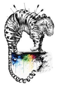 Sketchbook by Sandra Inchaurraga, via Behance