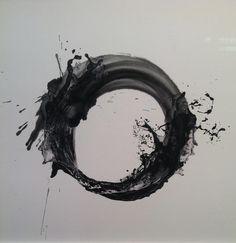 Kusho #27, Kusho #28 (2013. Injet prints with sumi ink on Xuan paper