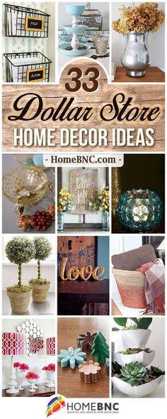 DIY Dollar Store Home Decor Ideas