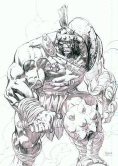 Planet Hulk by David Finch