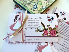 Sugar, Invitations, Pearls, Save The Date Invitations, Invitation, Pearl, Shower Invitation, Pearl Beads, Beads