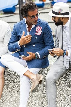 Another year has come and gone and our favorite fashion trade show, Pitti Uomo did not disappoint. #MensFashion