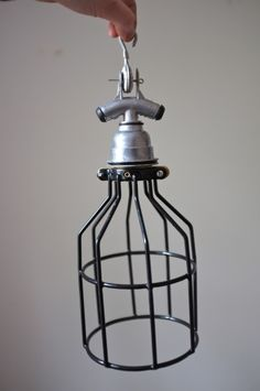 solar shop - cage light