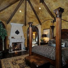 Cypress   Traditional   Bedroom   Houston   Stillwater Builders