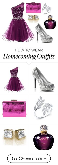 """Homecoming #5"" by wikiheart on Polyvore featuring Jimmy Choo and Christian Dior"