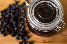 Small Blackberry Blueberry Rumtopf   The Kitchen Maus
