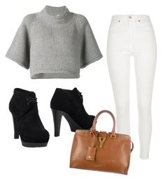 """Untitled #11"" by bxtremedancer-1 on Polyvore featuring CO, River Island, Sergio Rossi and Yves Saint Laurent"