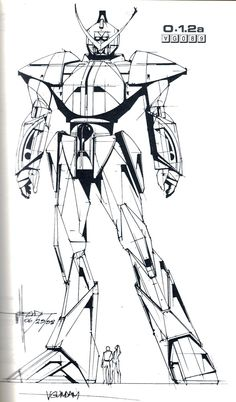 ⚒ — Syd Mead Concept Art for Turn A Gundam