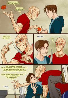 Marvel Universe - Wade Wilson x Peter Parker - Spideypool 2/15
