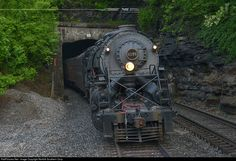RailPictures.Net Photo: NW 2156 Norfolk & Western Steam 2-8-8-2 at Welch, West Virginia by Norfolk Southern Corp