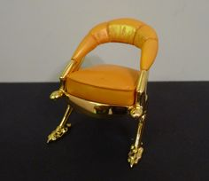 TAKE A SEAT COLLECTIBLE SAN DEMAS CHAIR BY RAINE WILLITTS RESIN