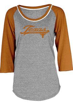 Texas Longhorns (UT) Women's Long Sleeve T-Shirt http://www.rallyhouse.com/shop/texas-longhorns-570037$31.95