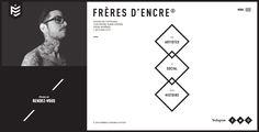 Site of the Day - Frères d'encre. by Locomotive -December 17 2014. #UI #UX #WebDesign #Inspiration #Awwwards #design