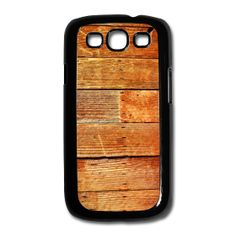 Vintage Wood Grain Samsung Galaxy S3 Case design. ~