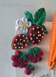 Gifts of summer - Homyachok quilling challenge Quilling Patterns, Quilling Designs, Paper Quilling, Quilling Ideas, Paper Art, Paper Crafts, Quilling Techniques, Filigree Design, Origami