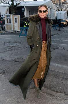 New York Fashion Week best street style Fall 2015... OP