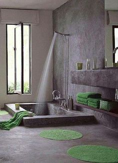 Baño con estilo.