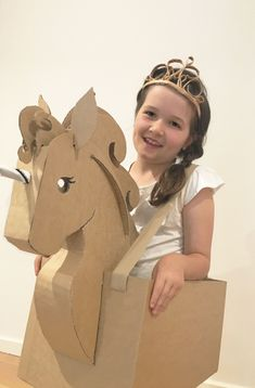 DIY Cardboard Unicorn Template by Zygote Brown Designs. Halloween Costume Diy, Diy Unicorn Costume, Unicorn Crafts, Cardboard Costume, Cardboard Car, Cardboard Crafts, Cardboard Playhouse, Cardboard Furniture, Horse Costumes