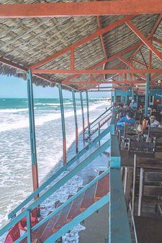 Casqueiro - one of the beach restaurants in Canoa Quebrada, Brazil…