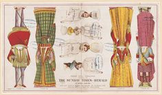 File:Paper doll fashions issued by the Sunday Times-Herald Chicago - Wikimedia Commons The Sunday Times, Library Of Congress, Paper Dolls, Fun Crafts, Chicago, Painting, Wikimedia Commons, Art, Fun Diy Crafts